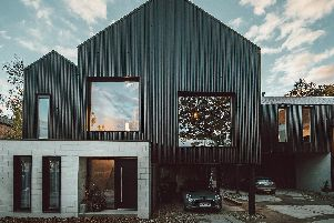The Cornyard in Oughtibridge, Sheffield, won the Residential award at the RICS Awards 2019 for providing two highly contemporary, stunning family homes on a limited budget of 610,000, using raw materials where possible. Photo by Tom Kahler.