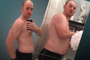 Mark Scott shows the difference the boot camp programme made for him.
