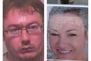 Adam Parkin, left, has admitted murdering his wife Julie at their Sunderland home in June 2017.