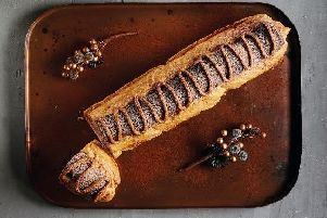 Could you eat a foot-long chocolate eclair?