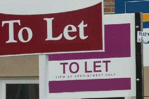 To Let signs.