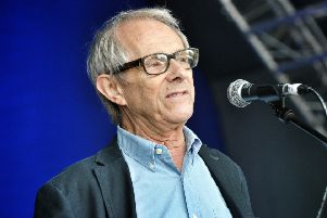 Award-winning director Ken Loach. Picture by Julian Brown
