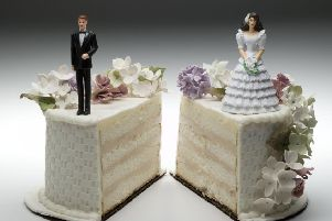 The challenges of when a marriage breaks down.