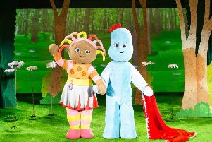 In The Night Garden is coming to the North East.