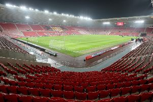 Inside the Stadium of Light.