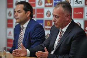 Charlie Methven, left, says Sunderland's owners are fully committed to the club's academy.