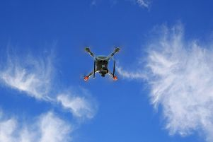 A drone yesterday.