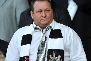 Newcastle United owner Mike Ashley.