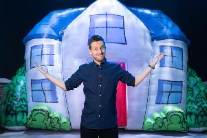 Chris Ramsey performing Chris Ramsey Live 2018: The Just Happy To Get Out Of The House Tour which airs on Comedy Central on Saturday February 2 at 10pm.