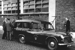 A Post Office Television Detector van in  October 1958.