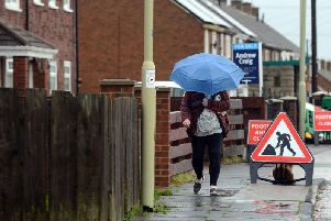 South Shields is expected to see windy weather this weekend.