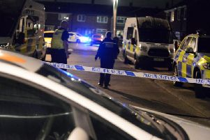 Police have been on the scene at Lorrain Terrace throughout the night.