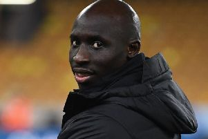 Mohamed Diame at Molineux.