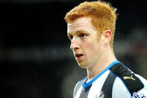 Jack Colback is facing an uncertain long-term future with his Newcastle United contract set to expire