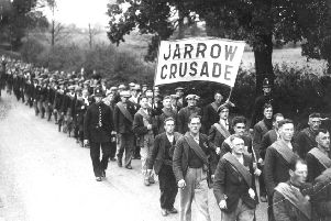 The Jarrow March in 1926 is just of the momentous events the Gazette has covered during its 170-year history.