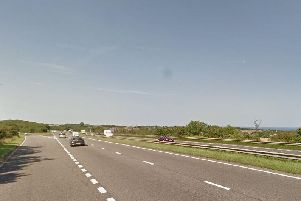 The collision has happened on the A19 northbound, close to the junction leading to the A1018. Image copyright Google Maps.