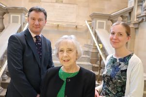 Andrew Watts, Chief Executive, Groundwork South & North Tyneside, Councillor Moira Smith, Lead Member for Children, Young People and Families at South Tyneside Council and Emma Crawford-Moore, of Humankind.