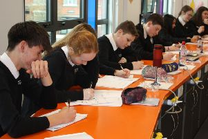 St Wilfrid's RC College pupils have taken part in a campaign for charity Teach First aiming to recruit teachers.