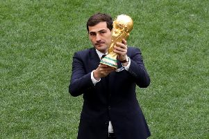 Iker Casillas has revealed his affection for Newcastle United on Twitter.