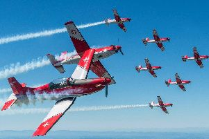 The Swiss Air Force PC-7 team is one of the flying displays already confirmed for this year's Sunderland Airshow.