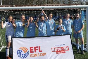 The girls will be playing ahead of SAFC on Sunday,