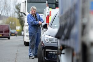 Glendale Transport's Norman Moore concerns with car parking on Middlefields Industrial Estate