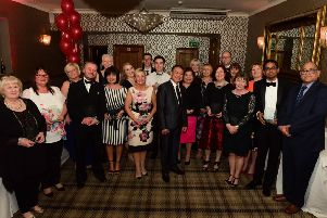 Winners pictured at last year's Best of Health Awards.