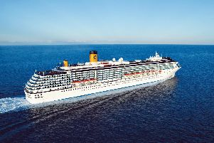 The Costa Mediterranea is due into the Port of Tyne at 8am tomorrow