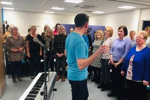 The choir will be performing at Proms in the Park