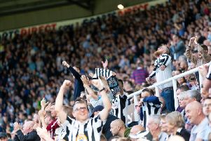 Newcastle fans have hailed Ayoze Perez after his hat-trick
