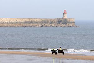 Will you be enjoying the sunshine in South Shields today?