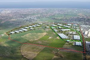 A CGI image of the International Advanced Manufacturing Park.