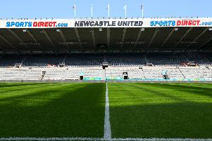 St James' Park. Picture by PA.