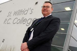 Mr Tapping and St Wilfrid's R.C. College has apologised after the letter was slammed on social media.