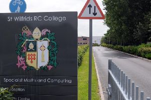 St Wilfrid's RC College sent a letter to students