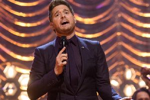 Michael Buble will perform in Newcastle on November 30.