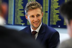 Yorkshire's Joe Root, the new captain of England Cricket team photocall at Headingley. Picture Tony Johnson.