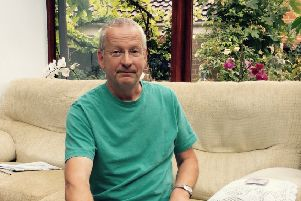 Michael Gray, aged 60, was diagnosed with rectal cancer in 2013.  Michael had been experiencing symptoms of the disease for some time and did not want to worry his family so turned to the internet for information - but he was left frightened by what he found.
