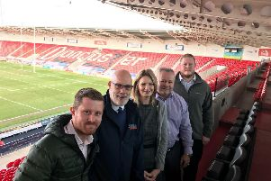 The launch of the Doncaster bid to host a Rugby League World Cup match in 2021