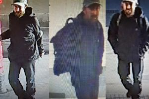 The man police want to trace. Picture: BTP