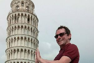 Obligatory Leaning Tower of Pisa prop photo