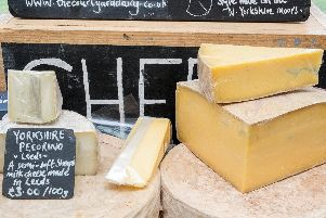 The cheese festival is a celebration of all the delicious local produce found across Yorkshire