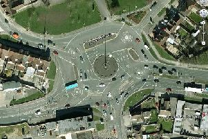The Magic Roundabout in Swindon