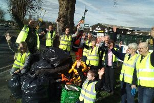 Doncaster litter pickers