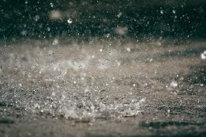 The weather is set to be a mixed bag today, with sunshine, cloud and heavy rain.