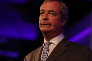 Nigel Farage's Leave Means :Leave march is coming to Doncaster.