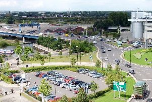 St. George's Bridge roundabout could be targeted by yellow vest protests.