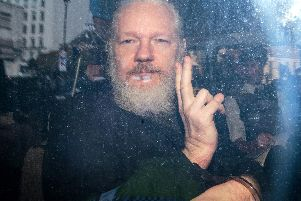 Julian Assange was arrested last week after seven years inside the Ecuadorian Embassy. (Photo by Jack Taylor/Getty Images)
