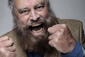 Doncaster film and TV star Brian Blessed