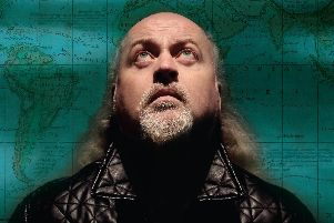 Comedian Bill Bailey delighted Doncaster.